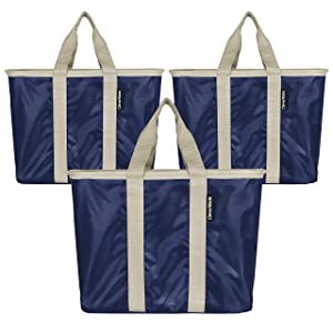 CleverMade SnapBasket Reusable Grocery Shopping Bags