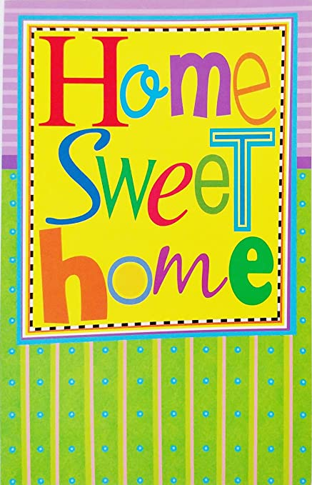 Amazon home sweet home wishing you every happiness home sweet home quotwishing you every happinessquot congratulations new m4hsunfo