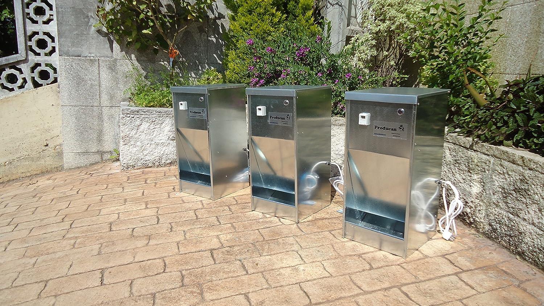 Futterstation Einfülltrichter Automatica programmierbar
