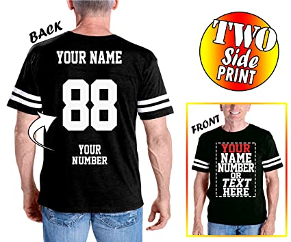 d39ac822b Custom Cotton Jerseys - Make Your OWN Jersey T Shirts - Personalized Team  Uniforms for Casual