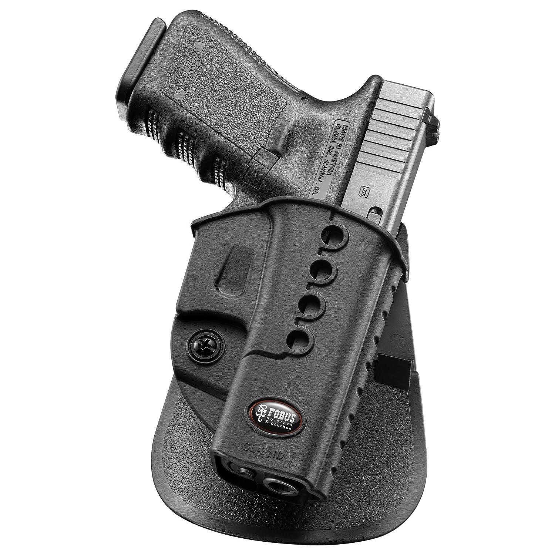 Fobus Standard Holster RH Belt GL2E2BH Glock 17, 19, 22, 23, 31, 32, 34, 35, Walther PK 380