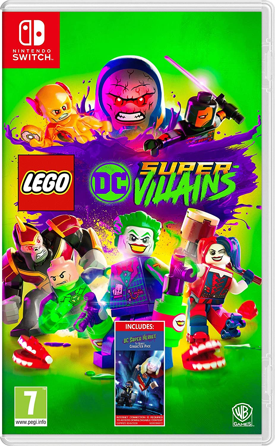 Lego DC Super-Villains - Amazon.co.UK DLC Exclusive - Nintendo ...