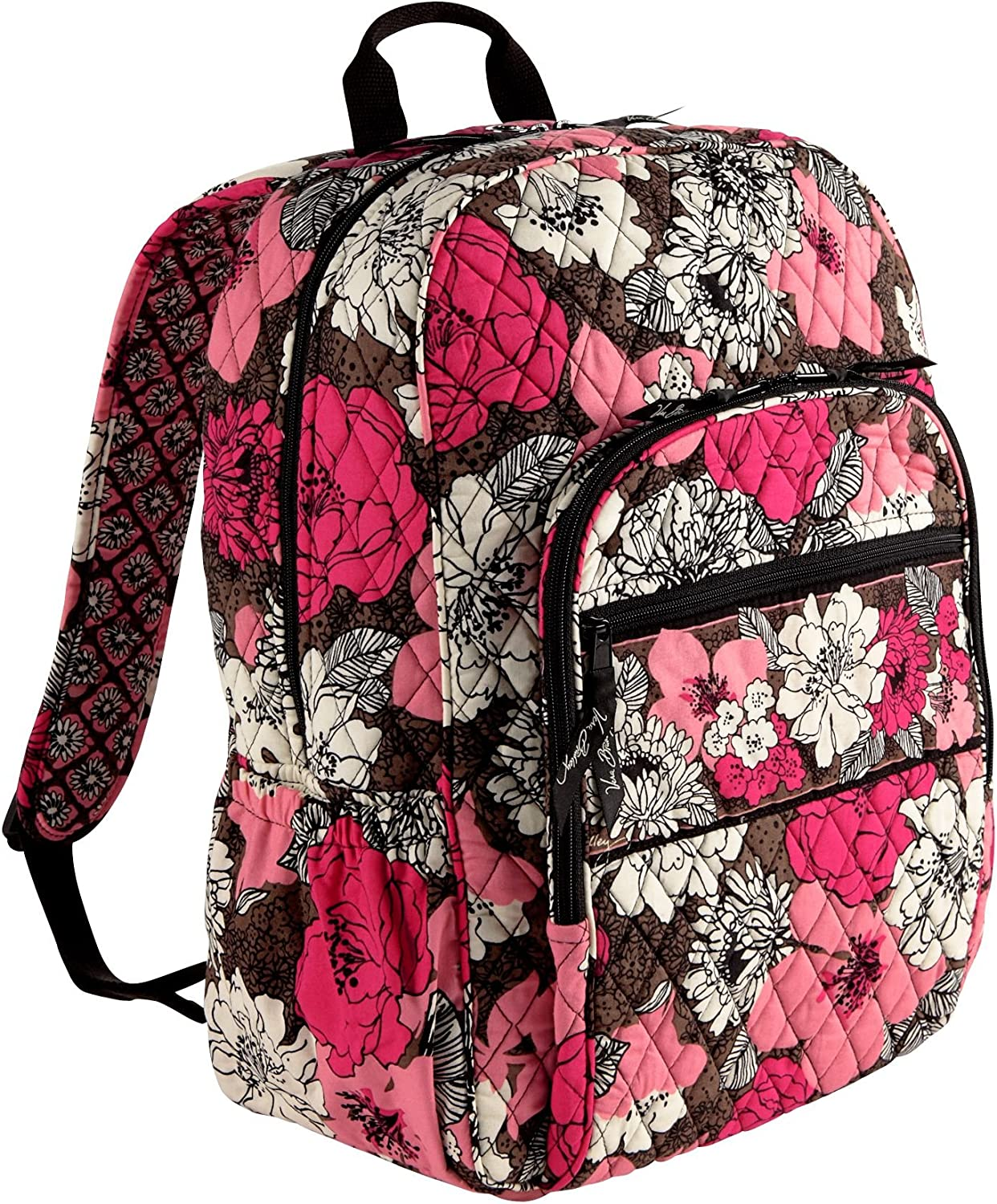 Very Bradley Campus Backpack in Mocha Rouge