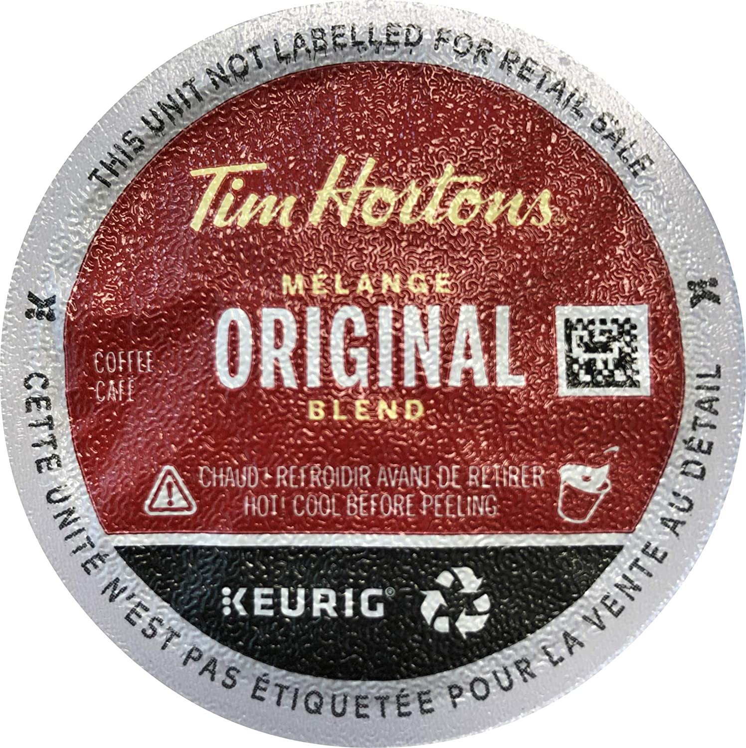 Tim Hortons Original Blend Single Serve Coffee K-Cups 72 Count (Packaging May Vary)