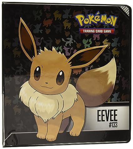 amazon com pokemon eevee 2 3 ring binder toys games