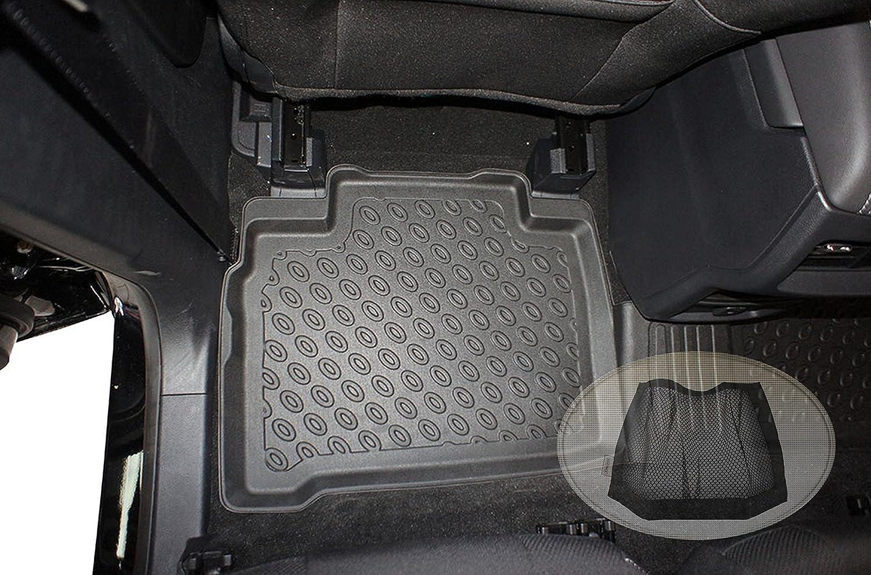 Klettverschluss-Netztasche ZentimeX Z3216642 Premium-3D-TPE-Gummifu/ßmatten