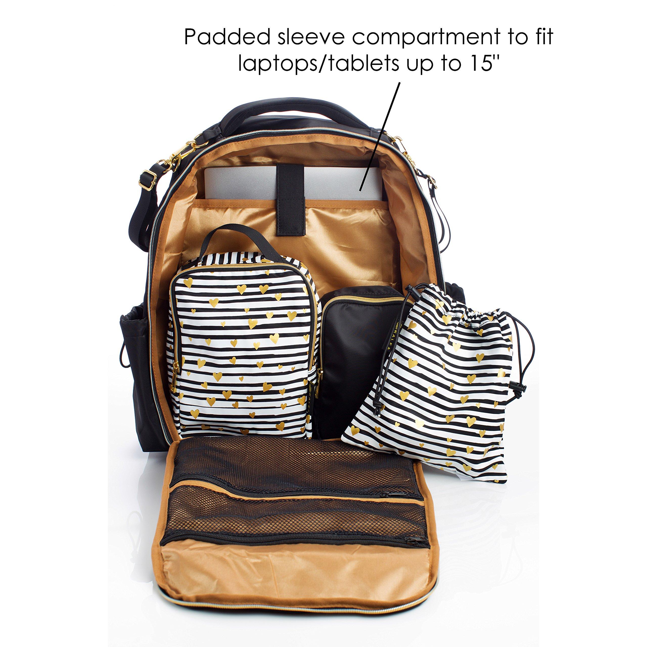 Diaper Bag Backpack With Adjustable Stroller Straps Baby