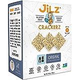 Jilz Gluten Free Cracked Pepper and Sea Salt Crackerz