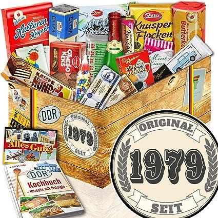 Original Seit 1979 Frauen Geschenk 40 Geburtstag Süße Nostalgiebox