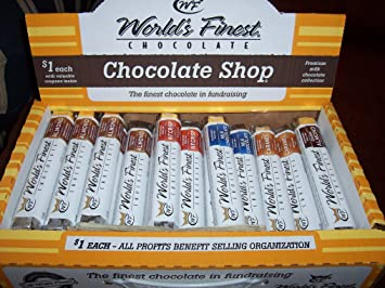 Amazon Com World S Finest Chocolate Bar Assortment Candy And