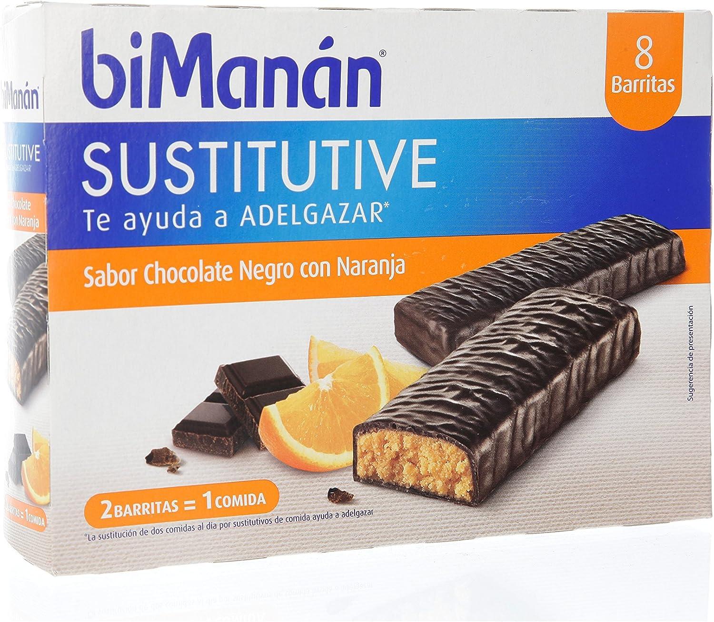 Barritas De Chocolate Y Naranja 8 Barritas de Bimanan: Amazon ...