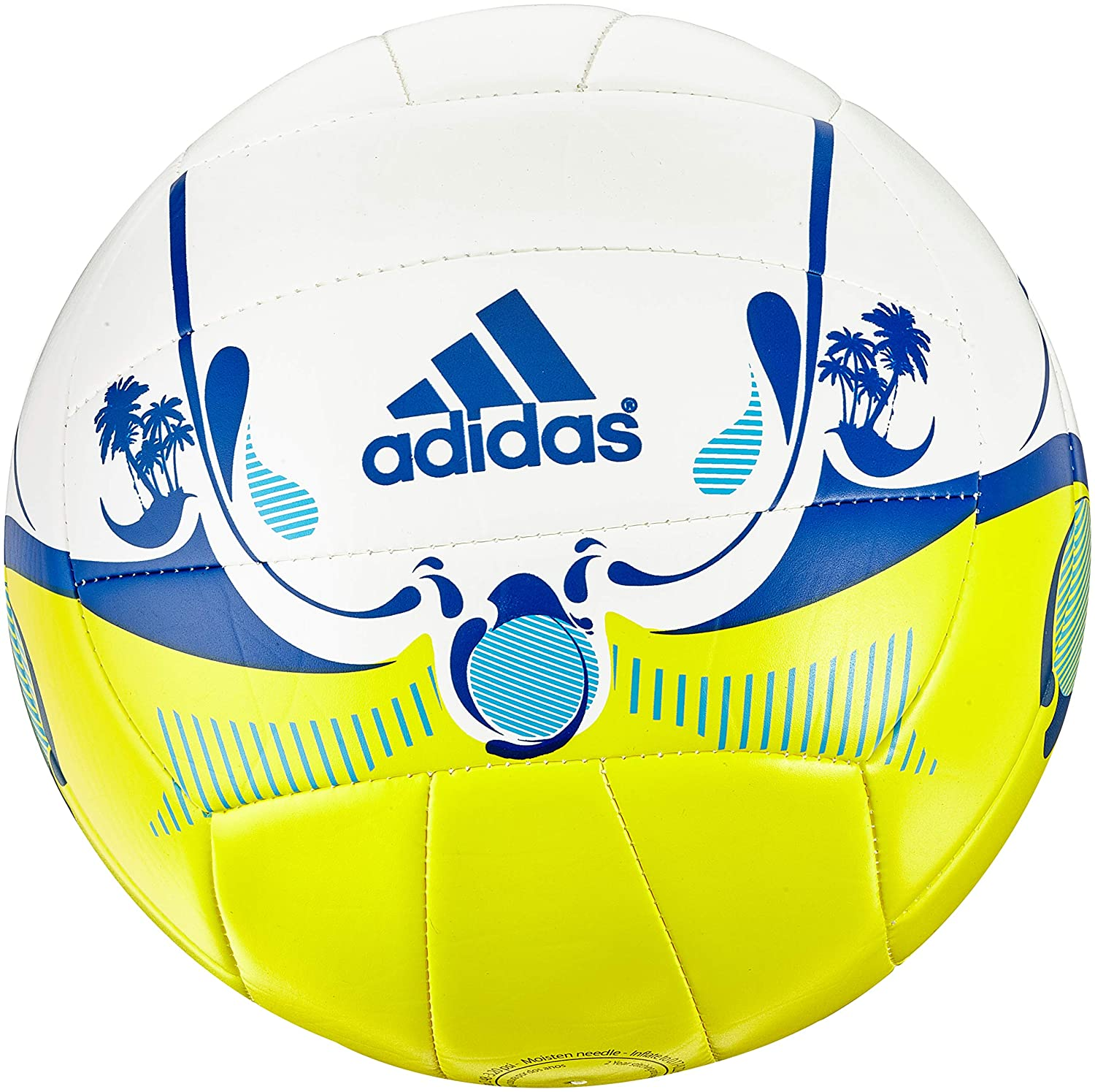 adidas Uni Beach Fun 2 Voleibol, Blanco, 5: Amazon.es: Deportes y ...