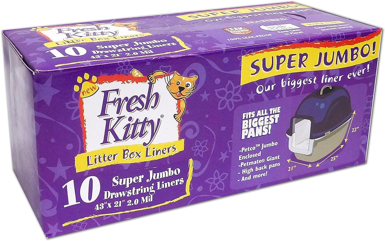 Fresh Kitty Drawstring Litter Box Liners