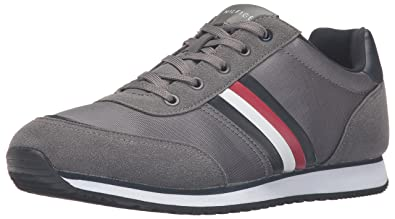 Tommy Hilfiger Men's Massena Fashion Sneaker, Grey, ...