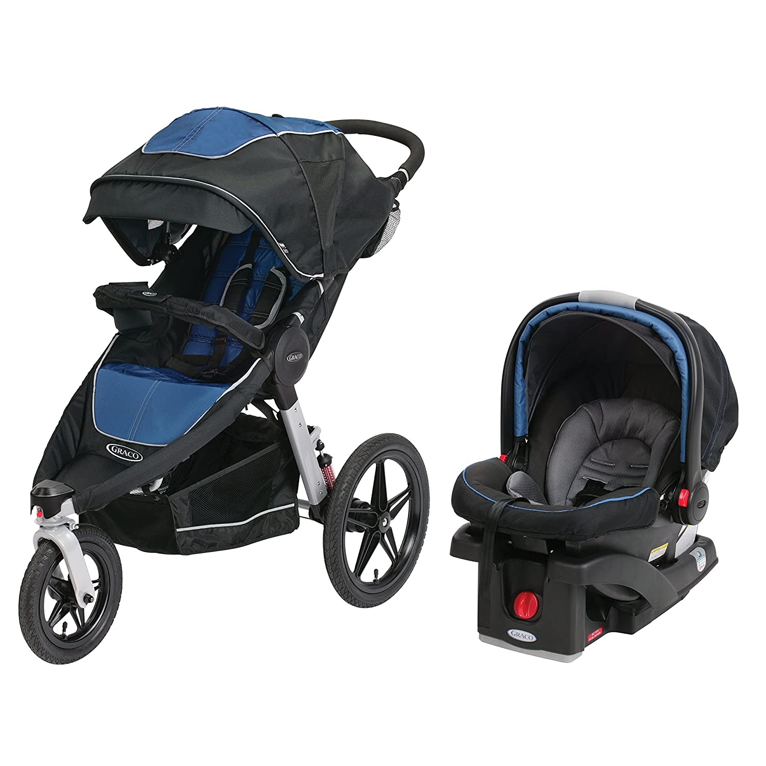 Amazon Graco Relay Connect Jogging Stroller Travel System Jaguar Baby