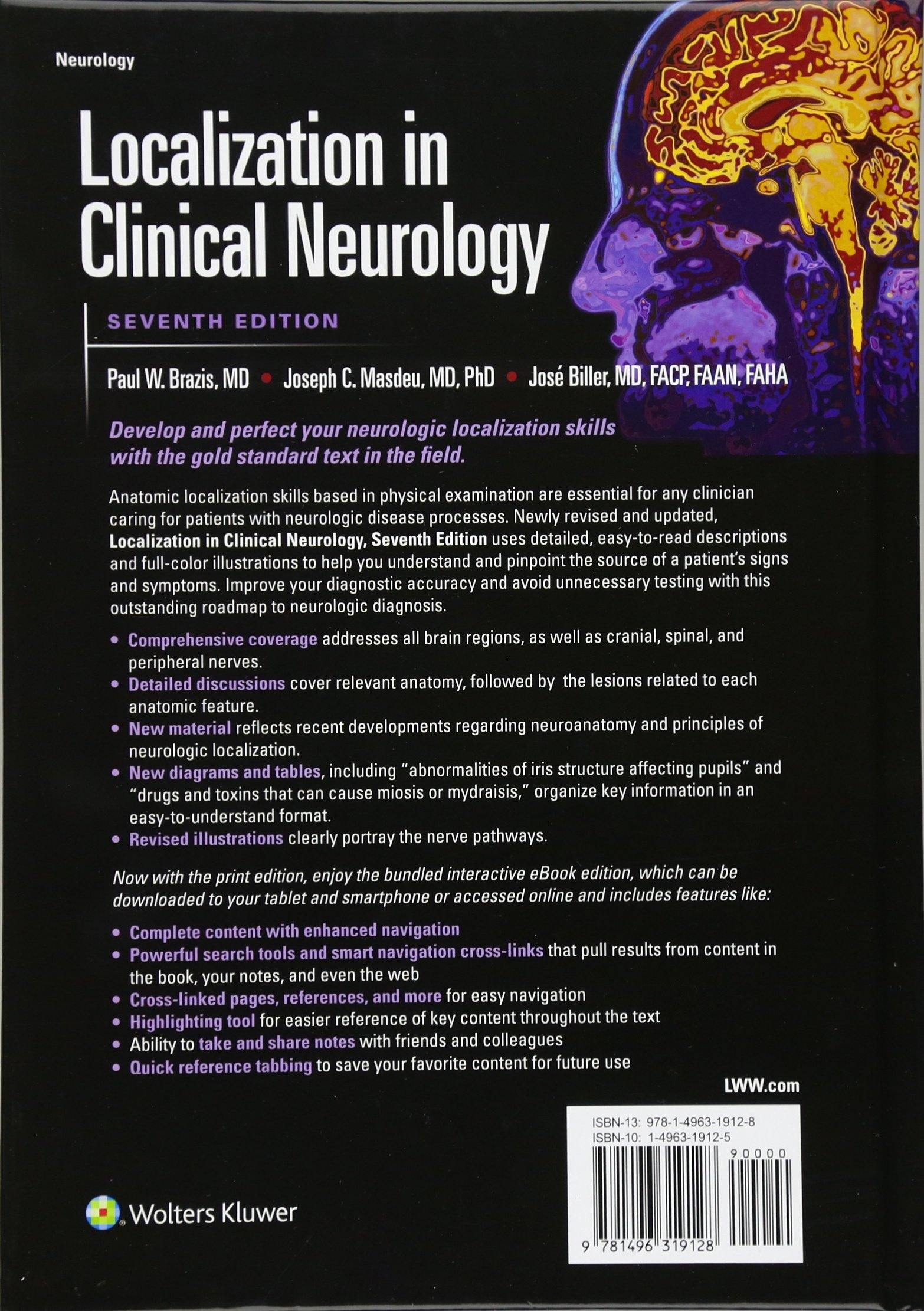 brazis localization in clinical neurology