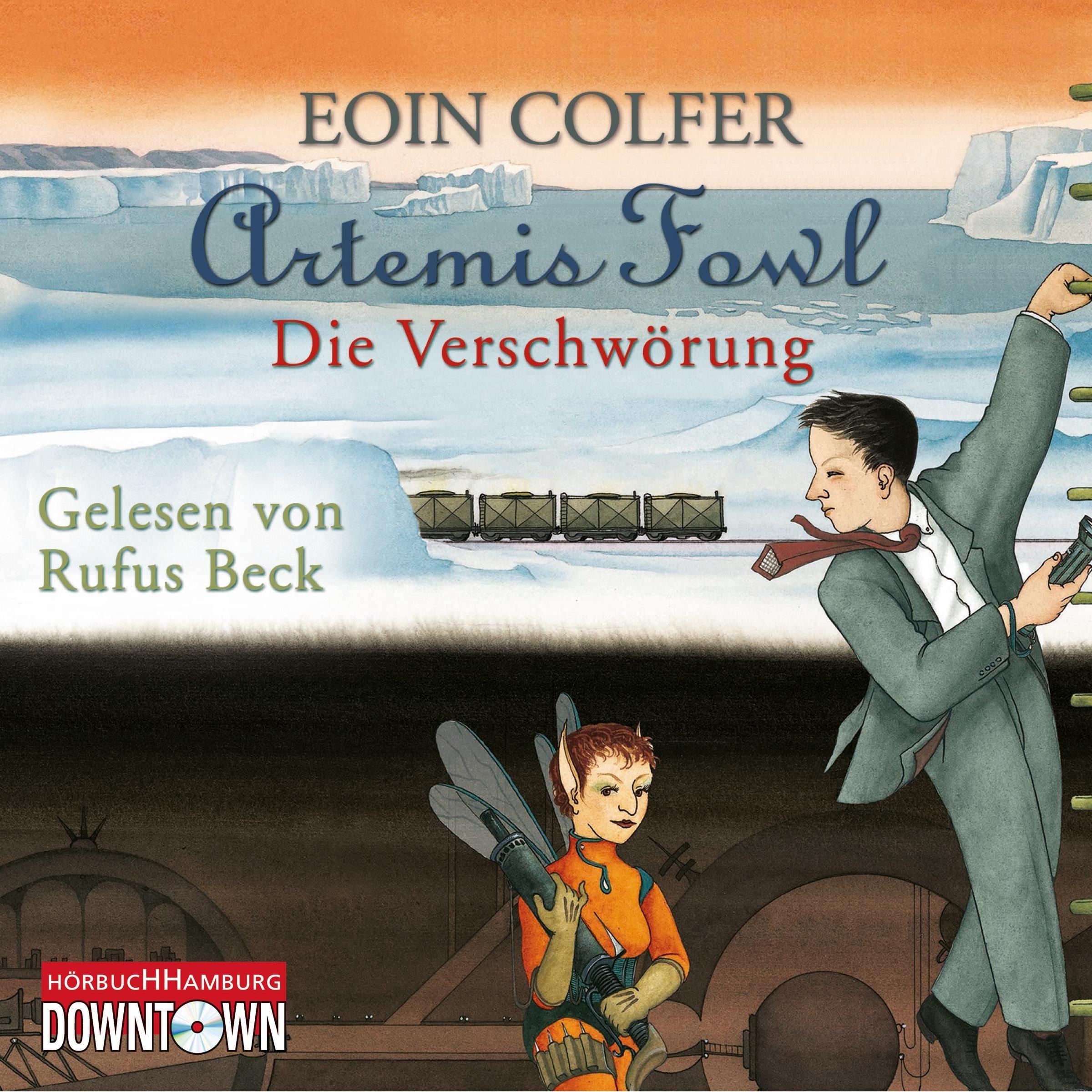 Artemis Fowl - Die Verschwörung: 4 CDs (Ein Artemis-Fowl-Roman, Band 2)