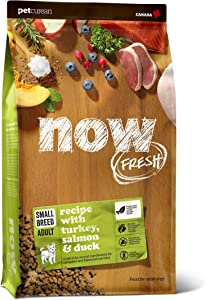 Now Fresh Small Breed Adult Recipe with Turkey, Salmon & Duck (22 lb.)