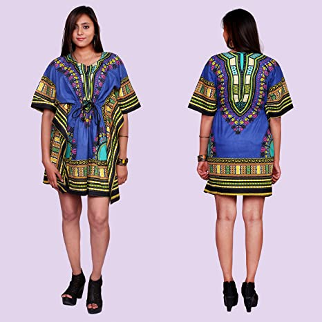 206d3eb273f Image Unavailable. Fashionable Cotton African Tribal Plus Size Women Wear  Traditional Dashiki Kaftan Maxi Dress