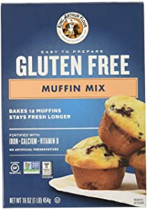King Arthur, Mix Muffin GF, 16 OZ (Pack of 6)