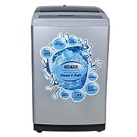 Mitashi 7.5 kg Fully Automatic Top Loading Washing Machine (MiFAWM75v20, Grey)