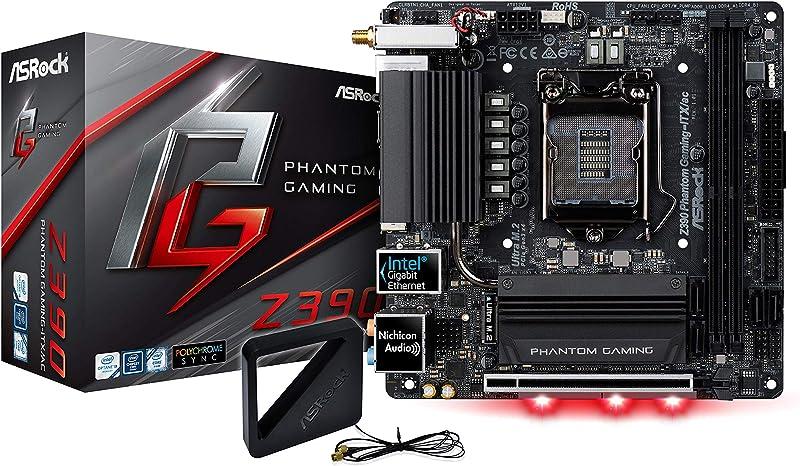 ASRock Motherboard (Z390 Phantom Gaming-ITX/AC)