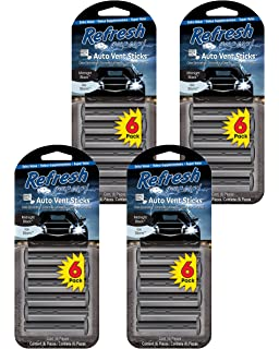 88af1eb54e1 Refresh Your Car! 89432 Vent Stick (Midnight Black Ice Storm Scent