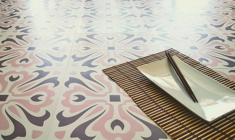 Zazous Havana Dawn - Azulejos de vinilo autoadhesivos para suelos de vinilo.