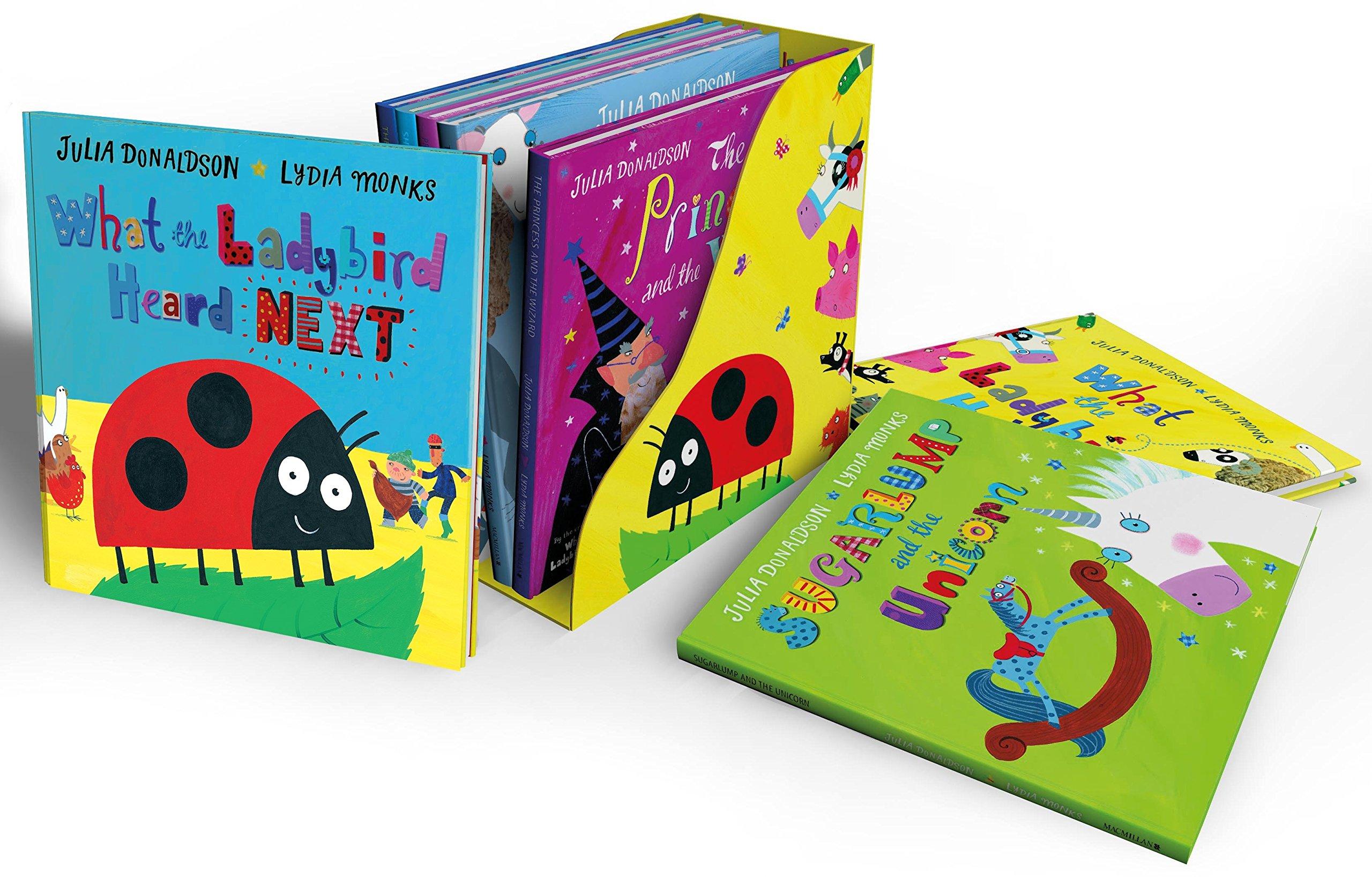 What the Ladybird Heard and Other Stories Bedtime Bookcase: Amazon.es: Donaldson, Julia, Monks, Lydia: Libros en idiomas extranjeros