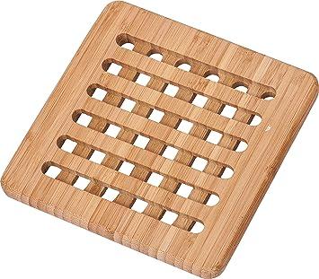 Conisy Tischset Hitzebestandig Natur Waschbar Untersetzer Bambus