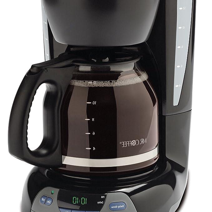 Amazon.com: Mr. Coffee Cafetera programable, 12 tazas ...