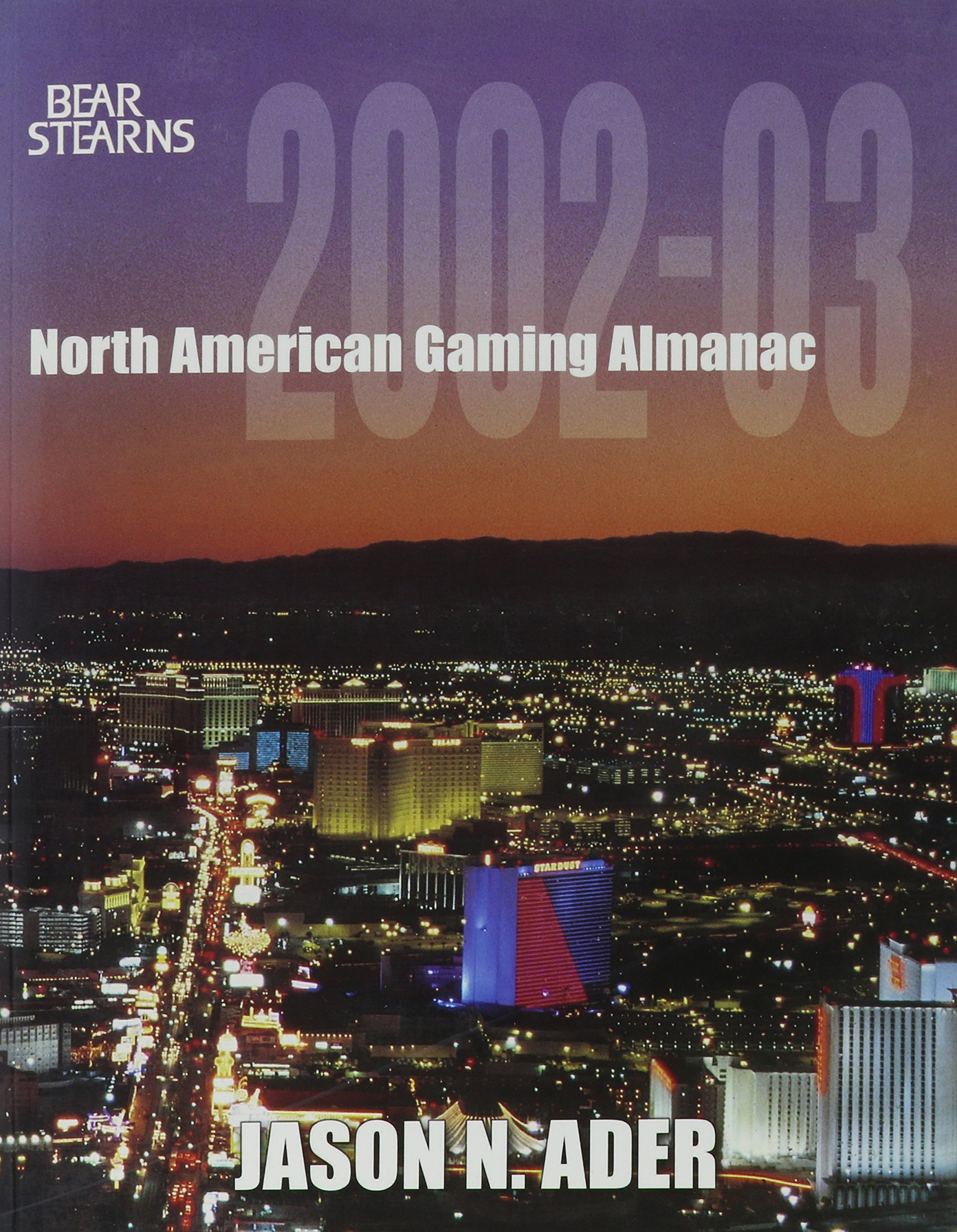 Bear Sterns North American Gaming Almanac PDF