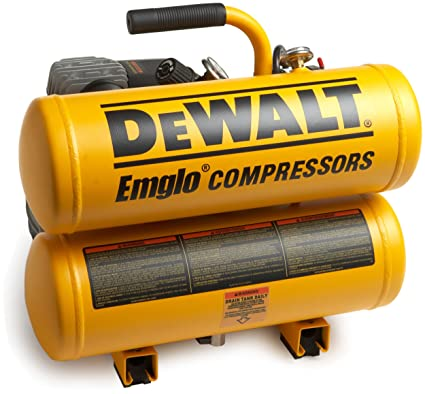 Amazon.com: Factory-Reconditioned DEWALT D55153R 15 Amp 2 Horsepower 4 Gallon Oiled Twin Hot Dog Compressor: Home Improvement