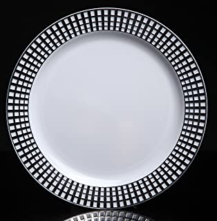 Home Value 10\  Elegant Round Plastic Dinner Plates White and Silver 120 Count  sc 1 st  Amazon.com & Amazon.com | Fineline 9"|314|320|?|f56ef2cd71be49030b132980559d7562|False|UNLIKELY|0.3526709973812103