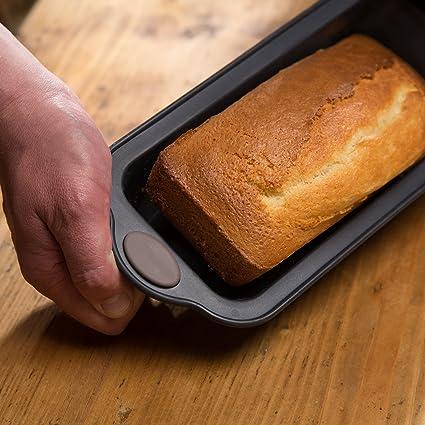 LEVIVO Molde de Horno de Silicona para Tarta, Gris, 10 cm: Amazon.es: Hogar