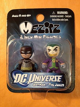 Mezco Toyz DC Universe Mini Mezitz Batman/Joker (Pack of 2) by ...