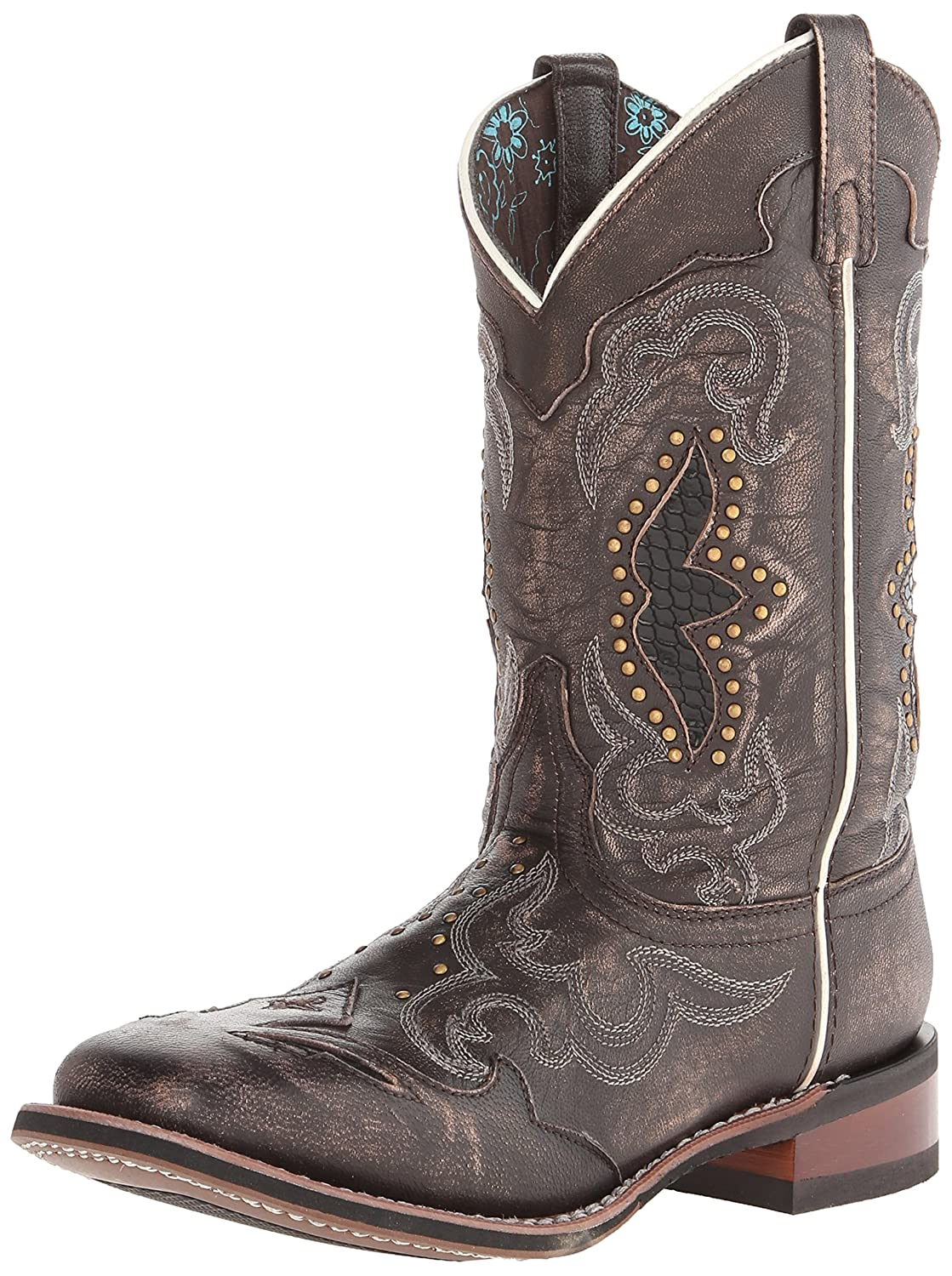 Laredo Women's Spellbound Western Boot B00ITCBERE 10 B(M) US|Black/Tan