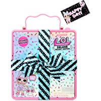 LOL Surprise Deluxe Present Surprise with Limited Edition Doll, and Pet, Pink - Adorable Fashion Doll and Colorful Doll…