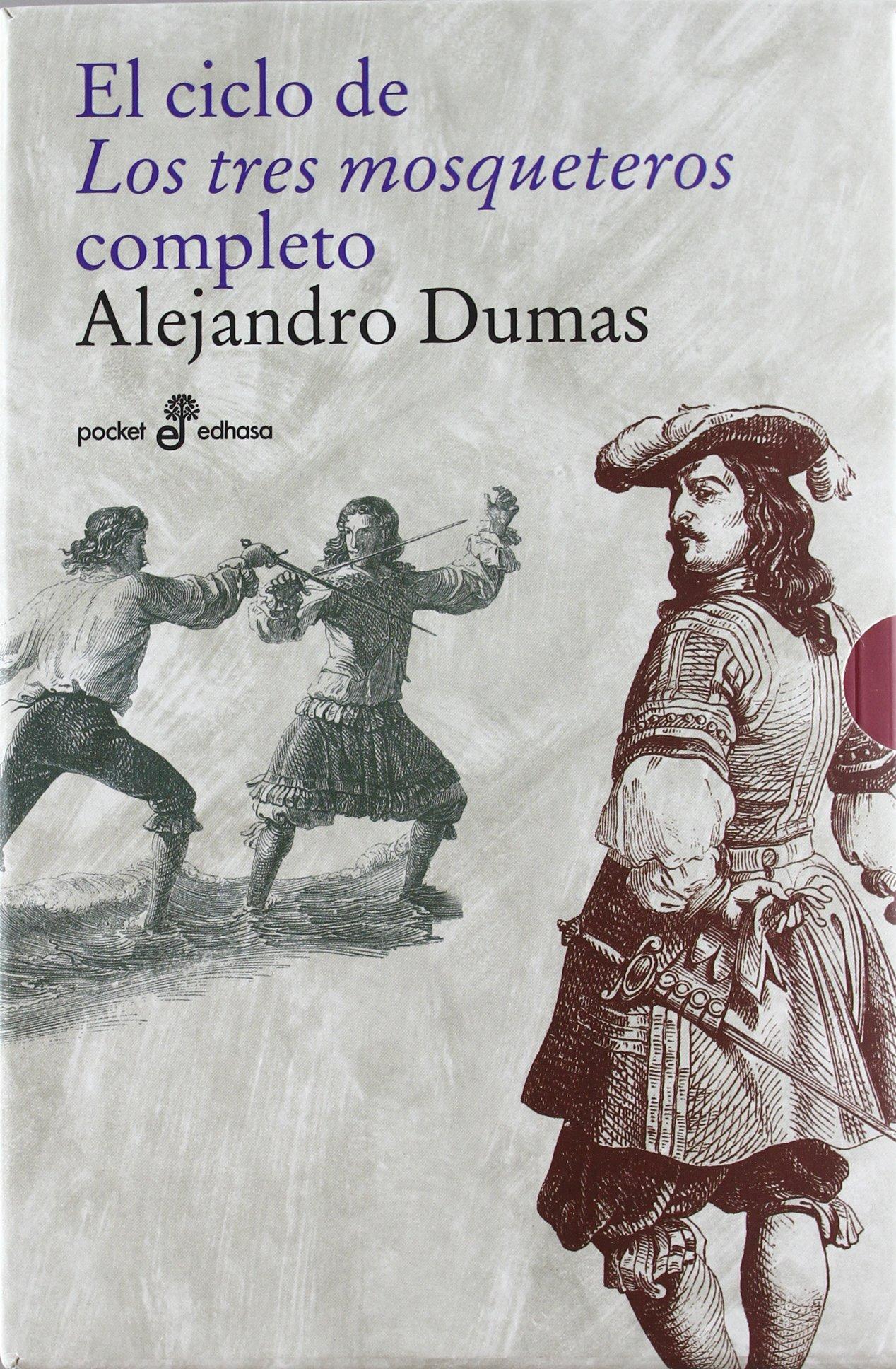 Los tres mosqueteros (obra completa 3 vols) (Xl (edhasa)) Tapa blanda – 10 oct 2011 Alejandro Dumas S.A. 8435019187 Adventure