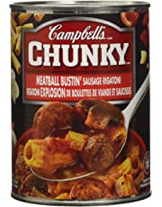 Campbell's Chunky Meatball Bustin' Sausage Rigatoni, 540ml