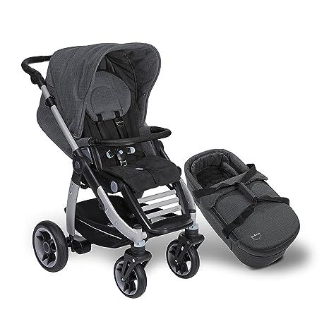 Teutonia Cosmo 2016 - Carrito y silla de paseo, con ruedas de titanio y bolsa