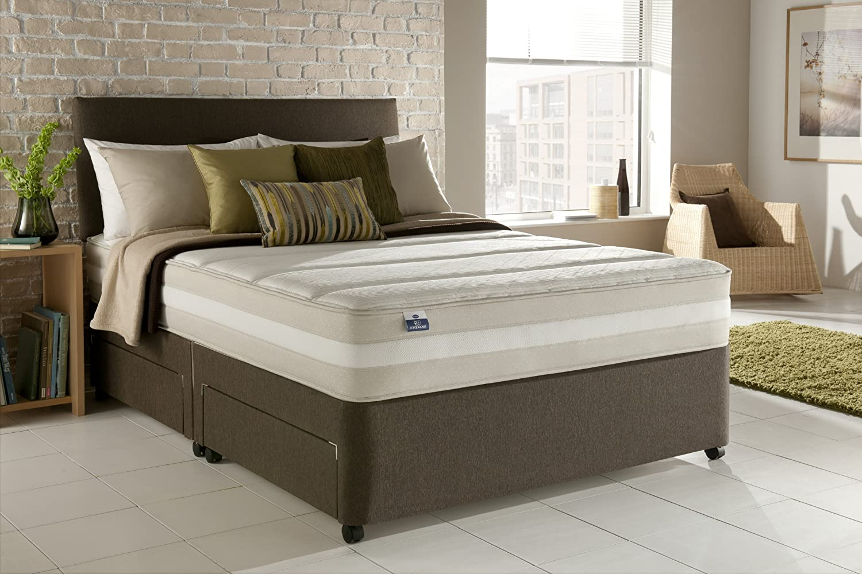 Silentnight Mirapocket Barcelona Innergetic colchón de látex, materiales combinados, blanco, 90 x 190 cm: Amazon.es: Hogar