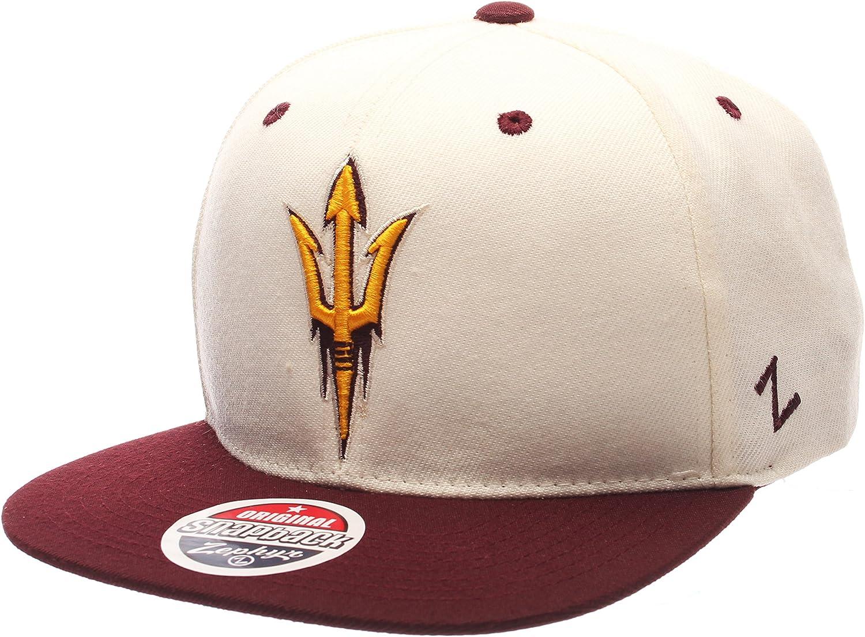 NCAA Zephyr Mens Z11 Invert Snapback Hat