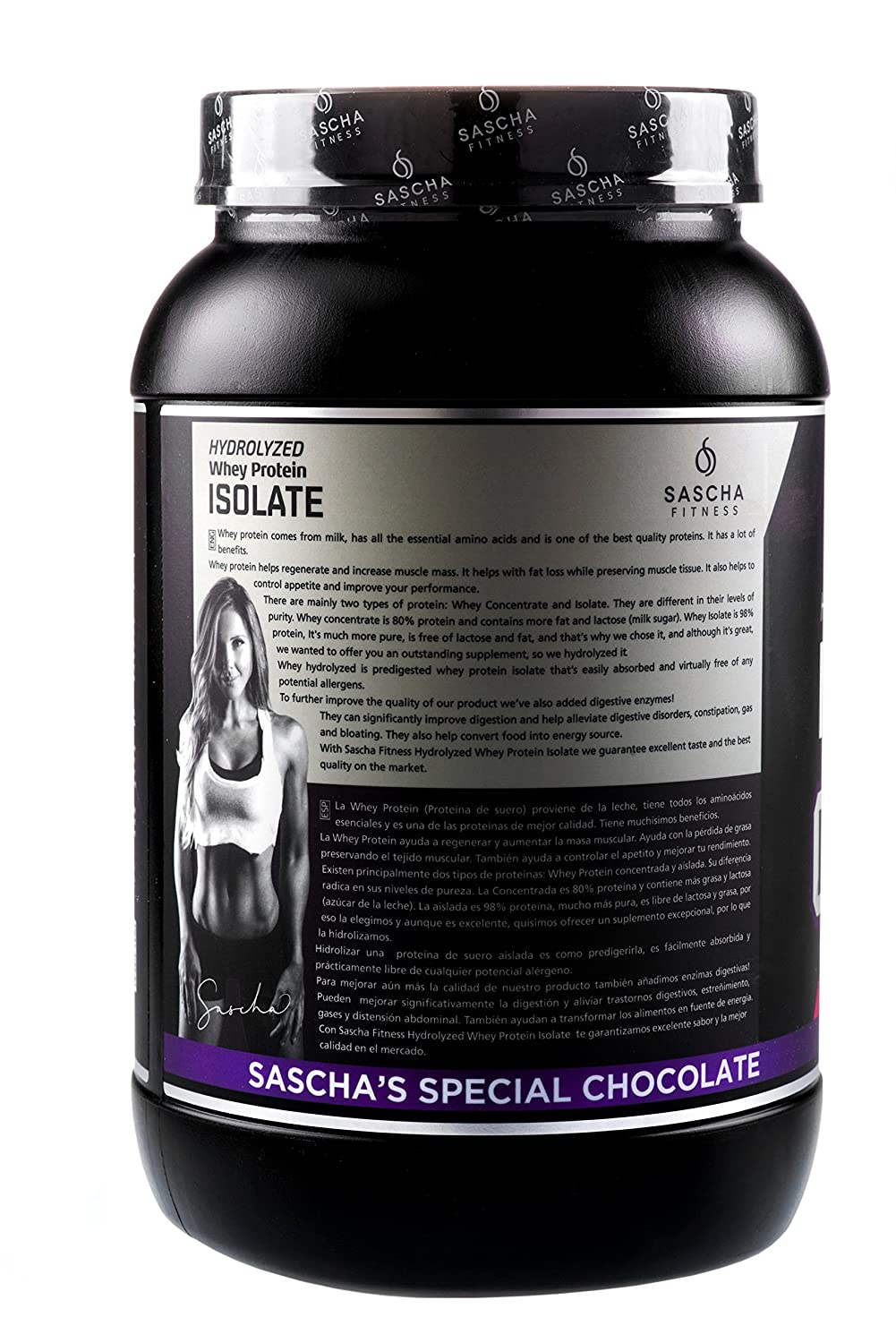 Amazon.com: Sascha Fitness Hydrolyzed Whey Protein Isolate,100% Grass-Fed (2 Pound,Chocolate): Health & Personal Care