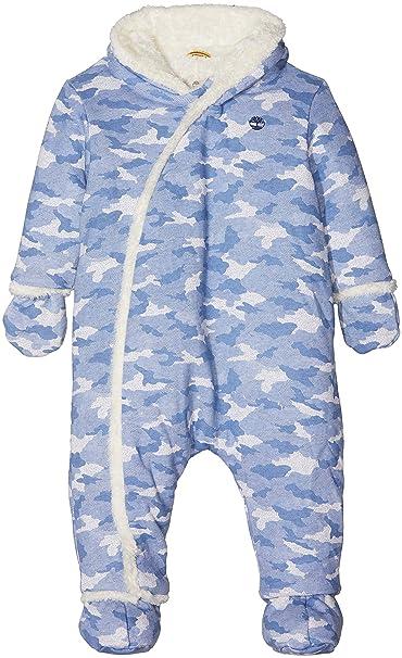 caab304dc Timberland Baby Boys' Combinaison Pilote Snowsuit, Multicolore (Unique),  6-12