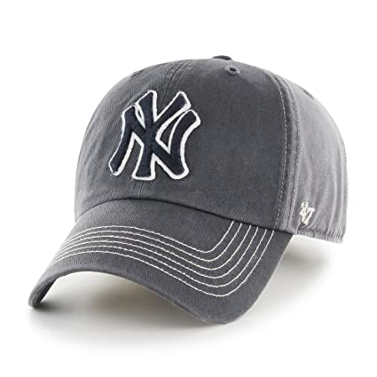 Buy MLB New York Yankees Cronin Clean up Adjustable Hat e7591aa4ddc