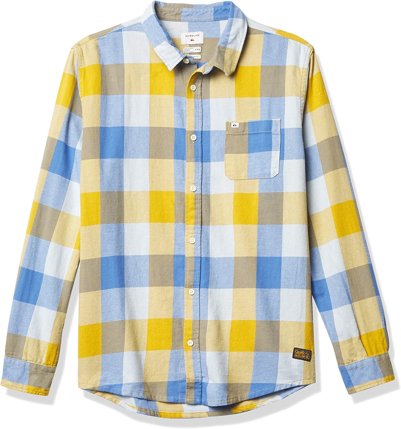 Quiksilver Men's Popular products Ultra-Cheap Deals Motherfly Flannel