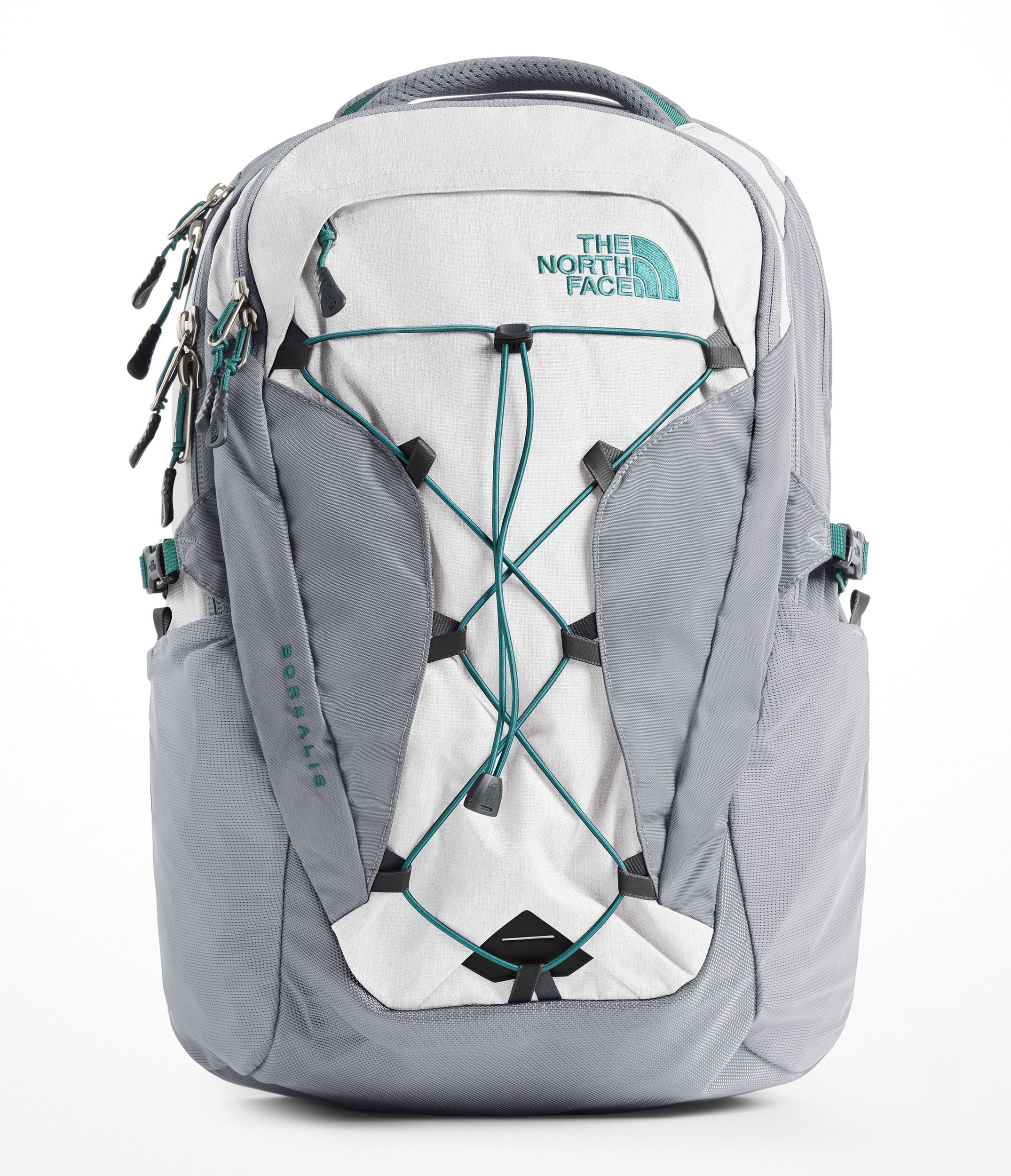 The North Face Women's Borealis Laptop Backpack - 15'' (Tin Grey/Mid Grey) by The North Face (Image #1)