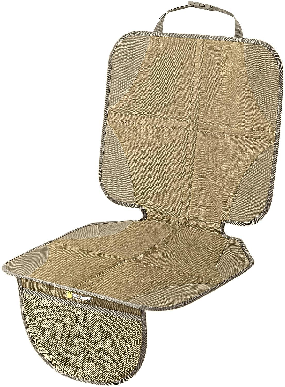 , High Back Tike Smart Premium Car Seat Protector Gray Grey