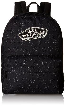 654e3c44b7 VANS Realm Backpack Star dot Black School Bag V00NZ0KJV  Amazon.co ...